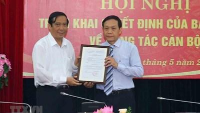 Ban Bí thư bổ nhiệm tân Phó trưởng Ban Nội chính Trung ương
