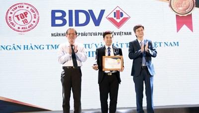 """BIDV SmartBanking - Sản phẩm ngân hàng số được vinh danh tại """"Tin & Dùng Việt Nam 2018"""""""