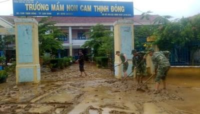 Các tỉnh Nam Trung Bộ khẩn trương khắc phục hậu quả sau bão số 9