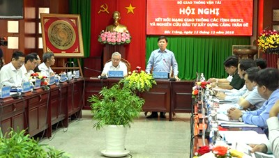 Cảng Trần Đề là động lực thúc đẩy phát triển kinh tế xã hội vùng