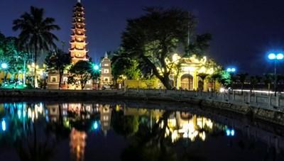 Chùa Trấn Quốc được bầu chọn là 1 trong 10 ngôi chùa đẹp nhất thế giới