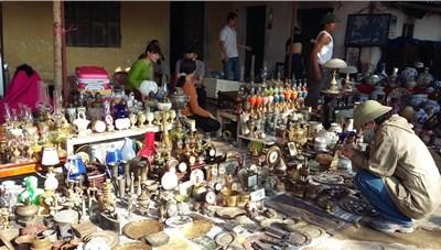 Chùm ảnh: Đêm chợ Viềng 'nô nức yến anh'…