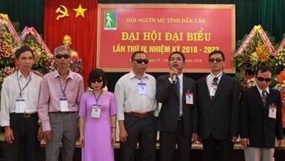 Đại hội Đại biểu Hội Người mù tỉnh Đắk Lắk lần thứ IV