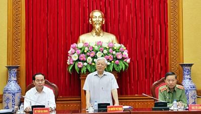 Đảng ủy Công an Trung ương thống nhất các nội dung công tác trọng tâm