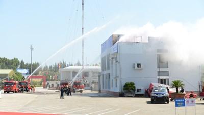 Diễn tập phòng chống khủng bố tại Nhà máy Lọc dầu Dung Quất