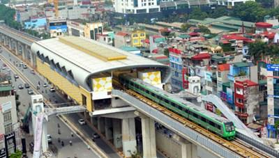 Đường sắt Cát Linh - Hà Đông sẽ chính thức hoạt động từ tháng 4/2019