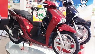 Giá tính lệ phí trước bạ xe máy được điều chỉnh như thế nào?