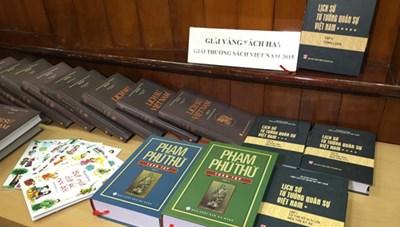 Giải thưởng Sách Việt Nam lần thứ 11: Sách lịch sử thắng lớn