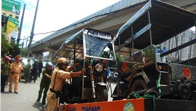 Gỡ bỏ những 'rào cản' đối với dịch vụ vận tải hàng hóa ở Thủ đô