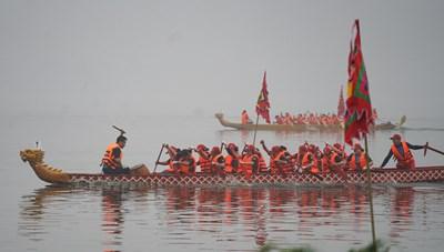 Hà Nội ban hành kế hoạch tổ chức lễ hội bơi chải thuyền rồng