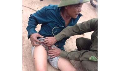 Hà Tĩnh: Tạm giữ một nghi can trong vụ trưởng thôn bị bắn trọng thương