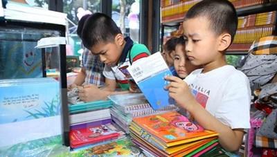Hội sách thiếu nhi Hà Nội Hè 2017 kéo dài trong một tuần