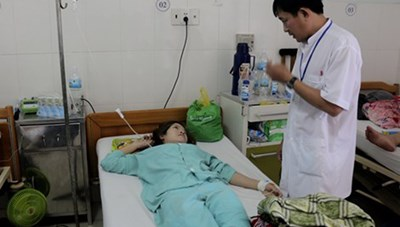 17 công nhân nhập viện do ngộ độc khí CO