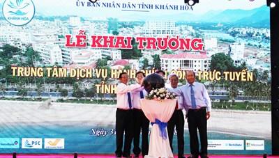 Khánh Hòa khai trương Trung tâm hành chính công trực tuyến