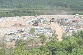 Khảo sát khu vực xây lò đốt rác của Quảng Nam