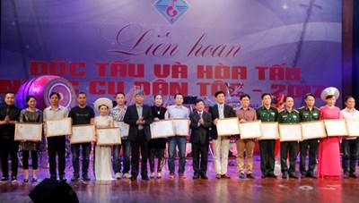 'Khoảng khắc Hà Thành' thắng lớn tại Liên hoan Nhạc cụ dân tộc