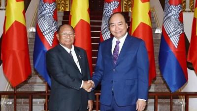Không ngừng củng cố quan hệ láng giềng tốt đẹp Việt Nam-Campuchia