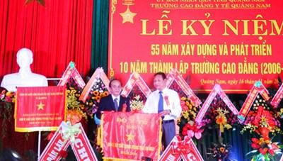 Kỷ niệm 55 năm thành lập Trường Cao đẳng Y tế Quảng Nam