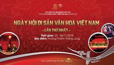 Lần đầu tiên tổ chức Ngày hội di sản văn hoá Việt Nam tại Hoàng Thành Thăng Long
