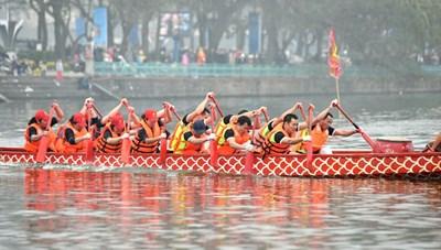 Lễ hội bơi chải thuyền rồng Hà Nội lần thứ 2