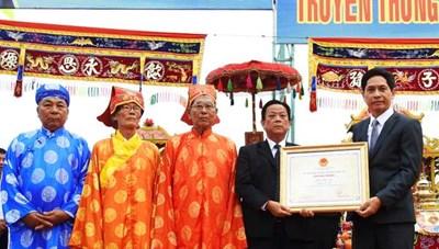 Lễ hội Cầu ngư tại TP Đà Nẵng là Di sản Quốc gia