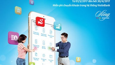 Miễn phí chuyển khoản iPay trong hệ thống VietinBank