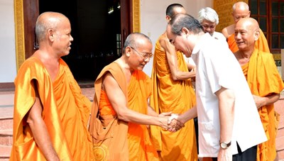 Mỗi ngôi chùa Khmer là một điểm sáng về tinh thần đại đoàn kết