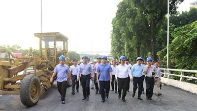 Ngày 7/10, thông xe cầu vượt An Dương - đường Thanh Niên