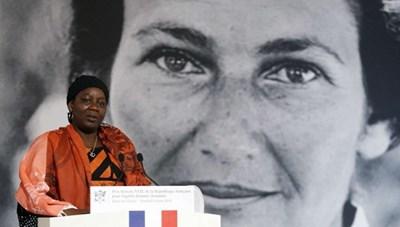 Người phụ nữ đầu tiên nhận giải thưởng Simone Veil vì nữ quyền