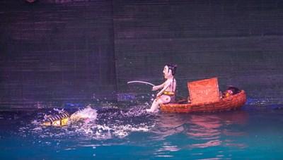Nhà hát Múa rối Thăng Long lưu diễn nước ngoài