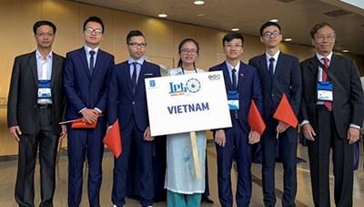 Việt Nam giành 3 HCV Olympic Vật lý quốc tế năm 2019
