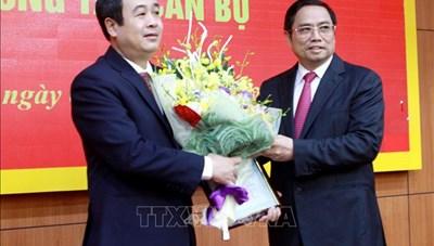 Ông Ngô Đông Hải giữ chức Phó Bí thư Thường trực Tỉnh ủy Thái Bình