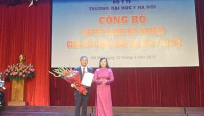 PGS TS Nguyễn Lân Hiếu làm Giám đốc Bệnh viện Đại học Y Hà Nội