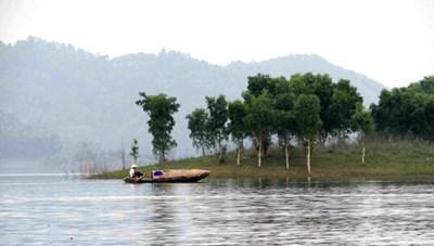 Phê duyệt đề cương quy hoạch phát triển Khu du lịch hồ Thác Bà