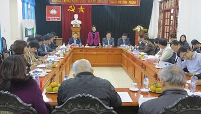 Phó Chủ tịch Bùi Thị Thanh kiểm tra công tác Mặt trận tại Bắc Kạn