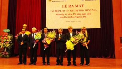 Ra mắt các tác phẩm văn học cổ điển Nga tại Hà Nội