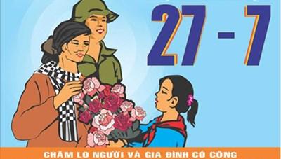 Sáng tác tranh cổ động kỷ niệm 70 năm Ngày Thương binh liệt sĩ