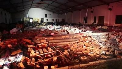 Sập mái nhà thờ tại Nam Phi, gần 30 người thương vong
