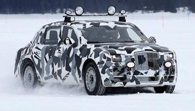 Siêu limousine cho tổng thống Nga lần đầu lộ diện