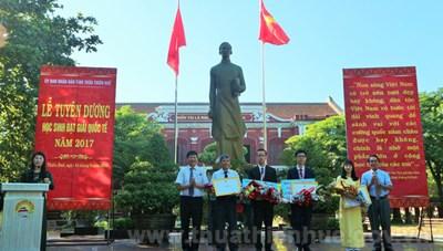 Thừa Thiên - Huế tuyên dương học sinh đạt giải quốc tế