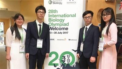 Thừa Thiên - Huế: Tuyên dương học sinh đoạt HCV Olympic Quốc tế môn Sinh học