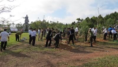 Thừa Thiên - Huế: Phát động 'Tết trồng cây đời đời nhớ ơn Bác Hồ'