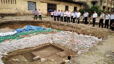 Tiếp tục nghiên cứu, thám sát Khu di tích khảo cổ Đông Sơn