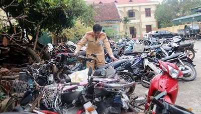 TP Hồ Chí Minh: Nhiều bãi xe quá tải xe tạm giữ