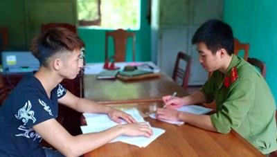 Triệu tập 2 thanh niên tung tin vỡ đập Trung Sơn để câu like trên mạng