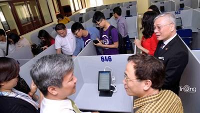 Trường ĐH Y Hà Nội sẽ tổ chức thi trên máy tính bảng