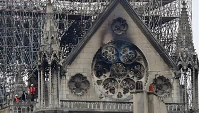 Cơ quan công tố Paris đưa ra nguyên nhân gây cháy Nhà thờ Đức Bà
