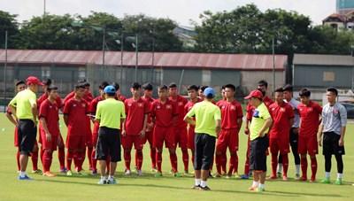 U17 Việt Nam hội quân