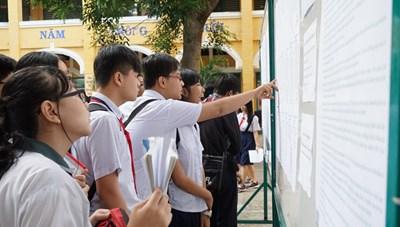 TP Hồ Chí Minh công bố điểm chuẩn tuyển sinh lớp 10