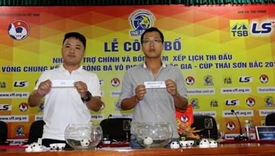 VCK U15 Quốc gia - cúp Thái Sơn Bắc 2016